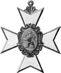 Schwarzburg-Sondershausen, Ehrenkreuz I. Klasse