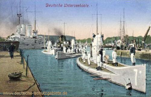 Deutsche Unterseeboote