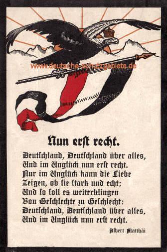 Deutschlandlied Alle 4 Strophen