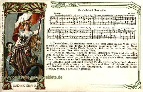 Deutschlandlied, Text
