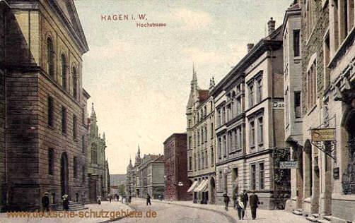 Hagen i. W., Hochstraße