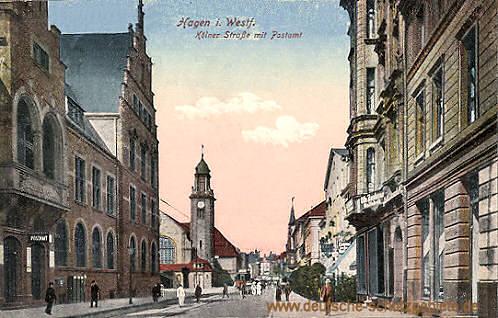 Hagen i. W., Kölner Straße mit Postamt