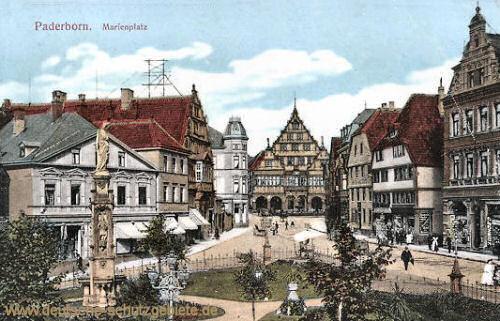 Paderborn, Marienplatz
