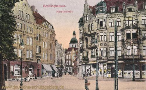 Recklinghausen, Münsterstraße