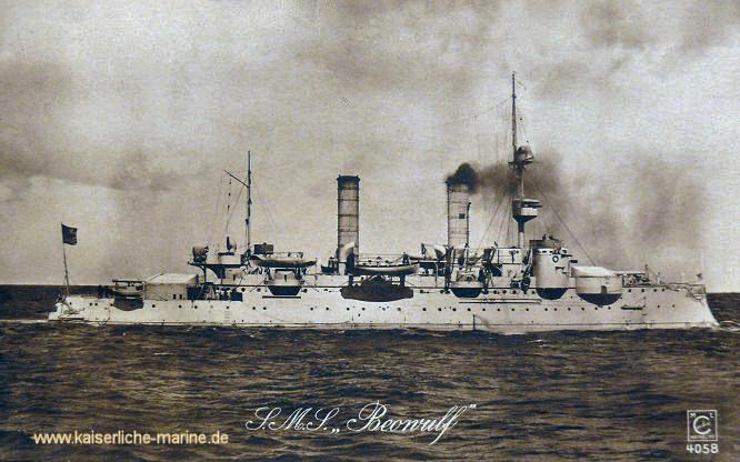 S.M.S. Beowulf, Küstenpanzerschiff