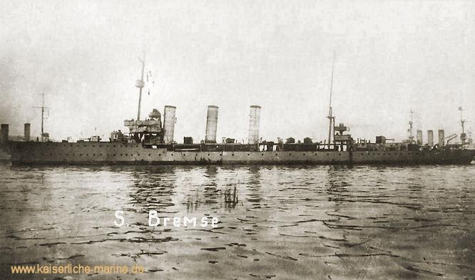 S.M.S. Bremse, Minenkreuzer