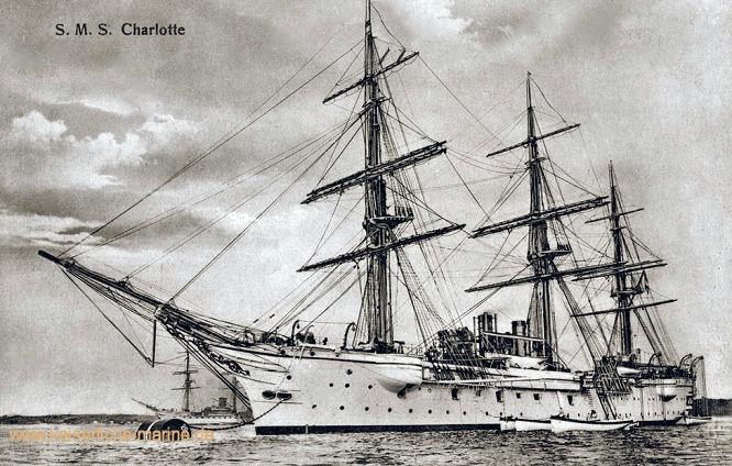 S.M.S. Charlotte, Kreuzerkorvette