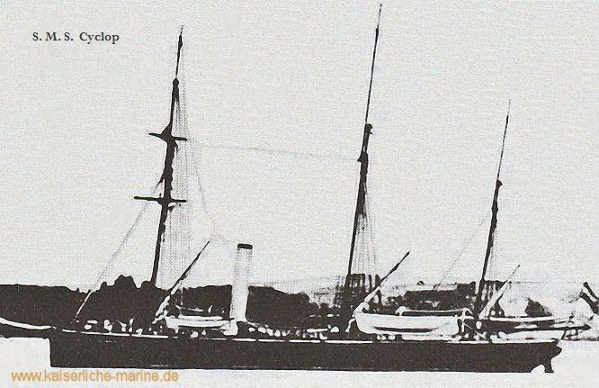 S.M.S. Cyclop, Kanonenboot