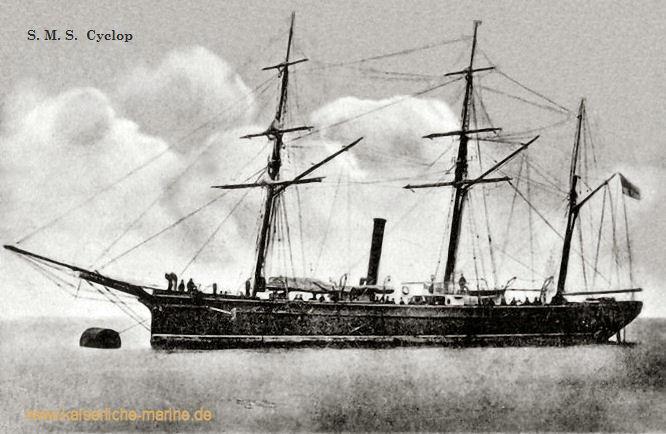 S.M.S. Cyclop, Kanonenboot I. Klasse