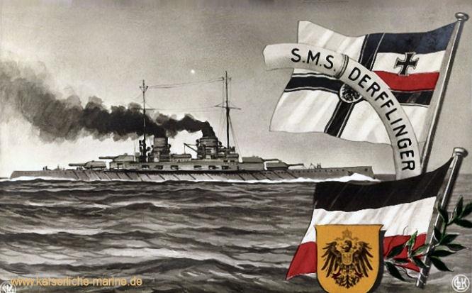 S.M.S. Derfflinger, Großer Kreuzer