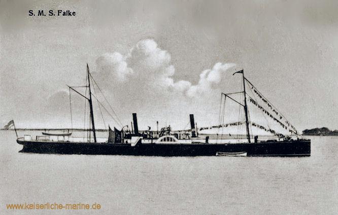 S.M.S. Falke, Aviso