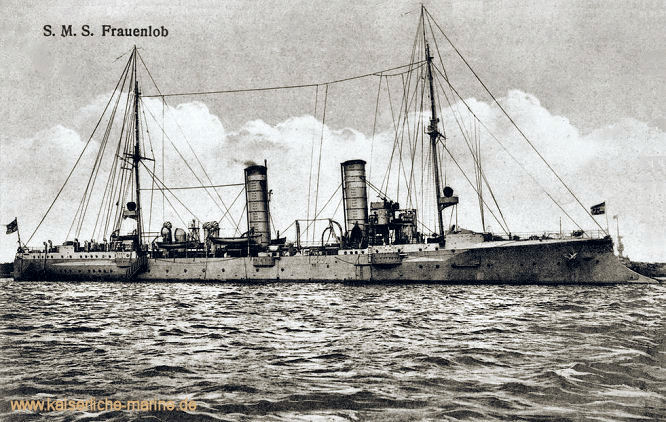 S.M.S. Frauenlob, Kleiner Kreuzer 1902