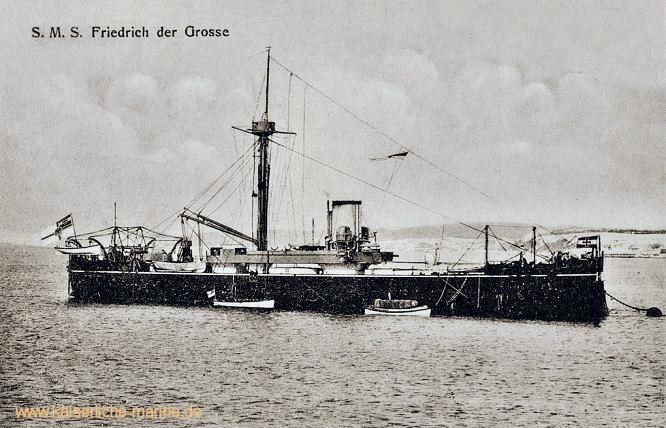 S.M.S. Friedrich der Große, Panzerfregatte