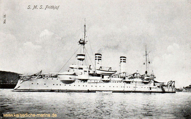 S.M.S. Frithjof, Küstenpanzerschiff