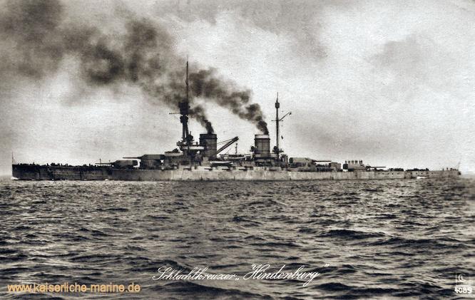 S.M.S. Hindenburg, Großer Kreuzer