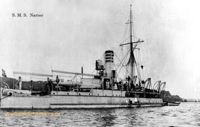 S.M.S. Natter, Panzerkanonenboot