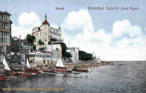 Saßnitz (Rügen), Strand