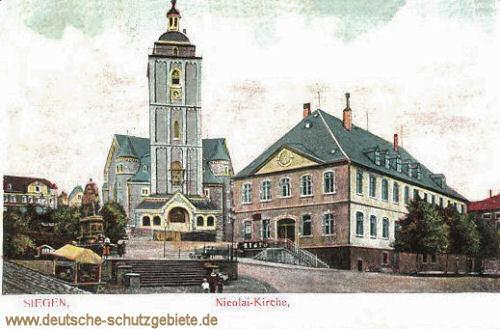 Siegen, Nicolai-Kirche