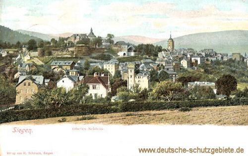 Siegen, Oberes Schloss