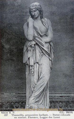 Thusnelda, Statue in Florenz