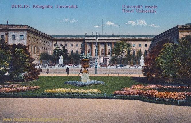 Berlin, Königliche Universität