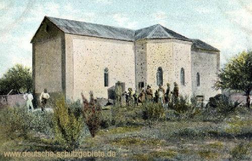 Deutsch-Südwestafrika, Zerstörte Kirche