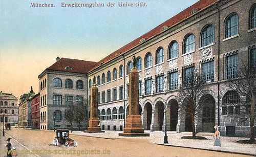 München, Erweiterungsbau der Universität