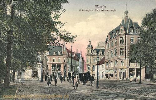 Münster i. W., Salzstraße Ecke Klosterstraße