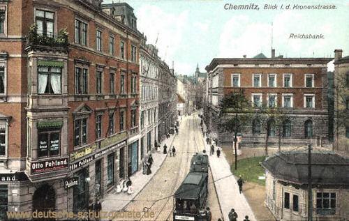 Chemnitz, Kronenstraße, Reichsbank
