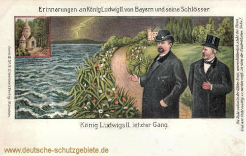 König Ludwigs II. letzter Gang