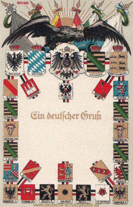 Bundesstaaten Deutsches Reich