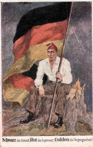 Deutscher Michel 1919