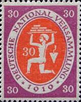 Nationalversammlung in Weimar 1919, 30 Pfennig