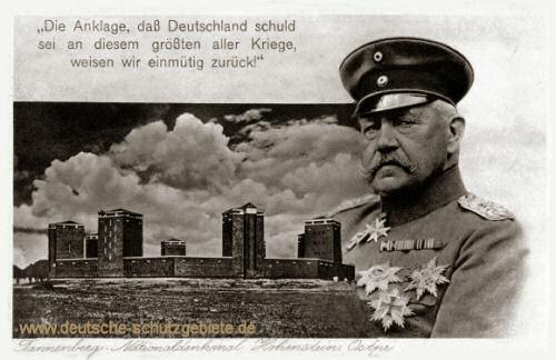 Tannenberg-Denkmal Paul von Hindenburg