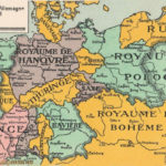 Le partage de l'Allemagne en 1915 - Die Teilung Deutschlands nach französischen Vorstellungen 1915
