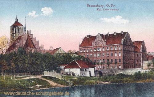Braunsberg O.-Pr., Königliches Lehrerseminar