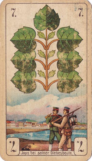 Grün 7 (Japs bei seiner Diebesbeute [Kiautschou])