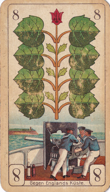 Grün 8 (Gegen Englands Küste)