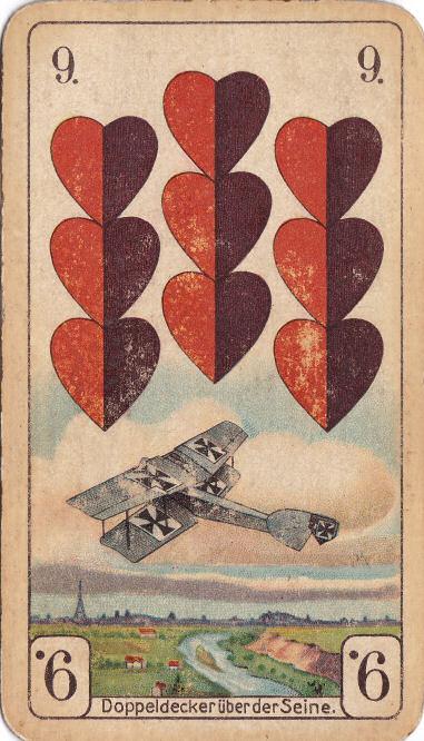 Rot 9 (Doppeldecker über der Seine)