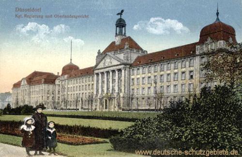 Düsseldorf, Kgl. Regierung und Oberlandesgericht
