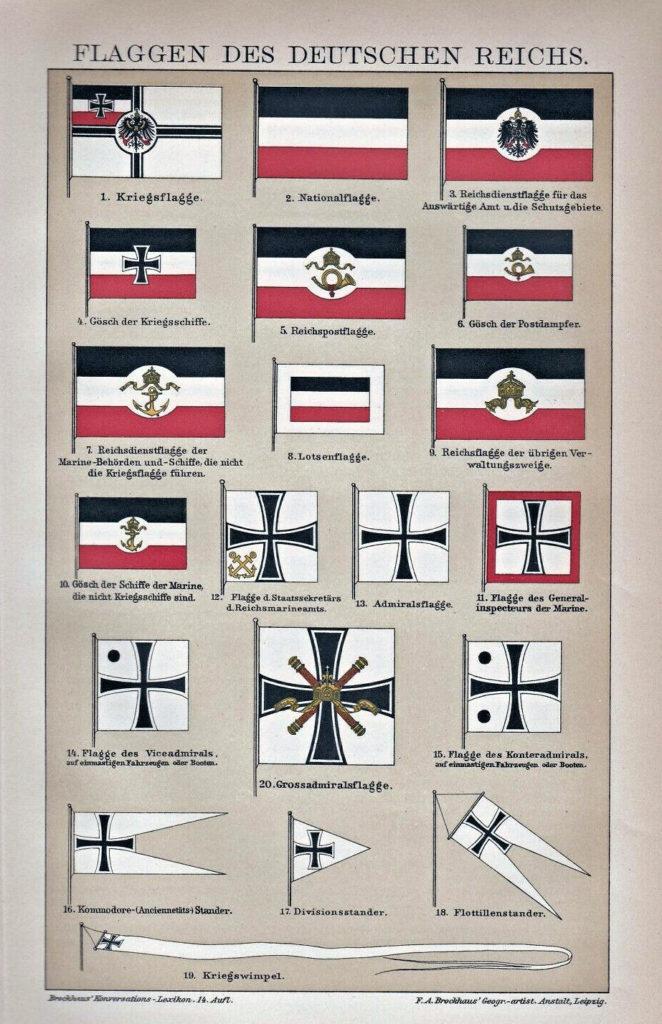 Flaggen des Deutschen Reichs (Kaiserreich)