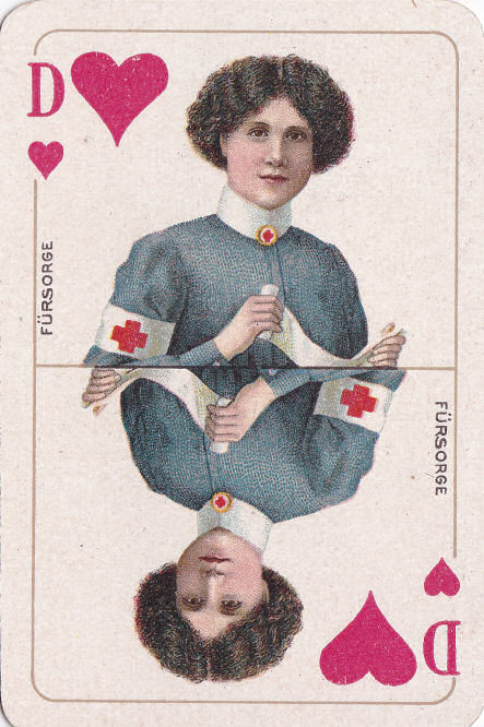 Herz Dame (Fürsorge)