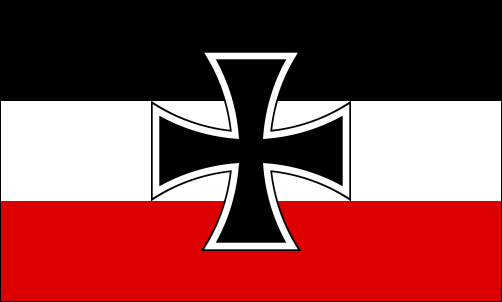 Gösch (Bugflagge) der Kaiserlichen Marine