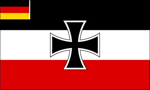 Reichskriegsflagge der Reichsmarine (1922-1933) - Weimarer Republik