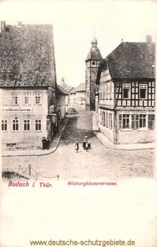 Rodach i. Thür, Hildburghäuserstraße