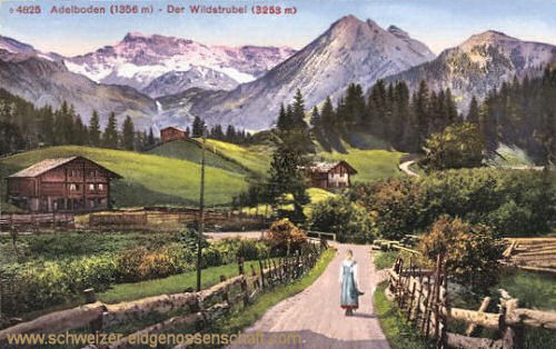 Adelboden, Der Wildstrubel