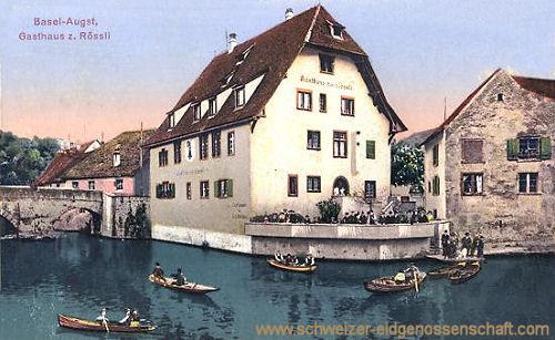 Basel-Augst, Gasthaus zum Rössli