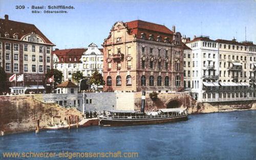 Basel, Schifflände
