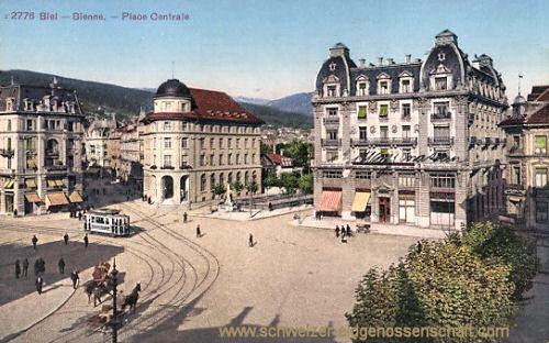 Biel - Bienne, Place Centrale