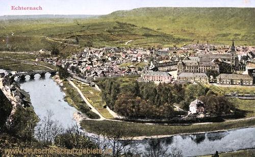 Echternach, Panorama